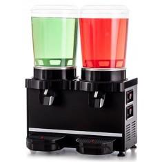 Schładzacz do napojów - dyspenser napojów - 10 l + 10 l - Panoramic MM20.AB